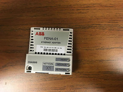 ABB FENA-01 Ethernet adapter Module For ABB ACS355 Series Drives - USED
