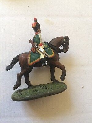 Del Prado Relive Waterloo  French Cavalry JAQ91 Trooper Mounted