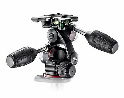 Manfrotto Mhxpro-3W Mhxpro3W Mhxpro 3W Testa 3 Vie Xpro Nuova Nero