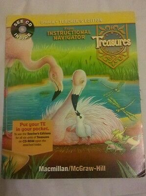 Grade K Macmillan McGraw Hill Treasures Instructional Navigator Teacher CD