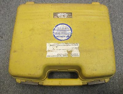 Topcon Hard Carrying Case For Laser Rl-60B