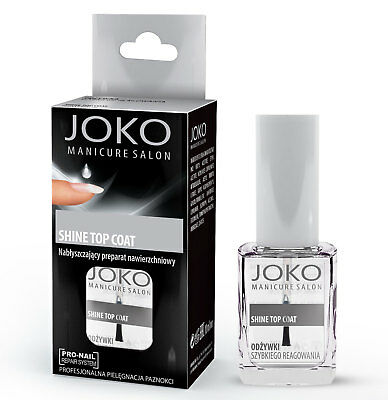 Top coat brillance, longue tenue des vernis