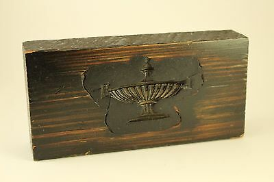Antique Wood Block Architectural Furniture Plaster Gesso Mold Genie Lamp Casting