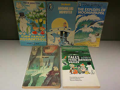 Tove Jansson - The Moomins Series - 5 Books Collection! (ID:42590)