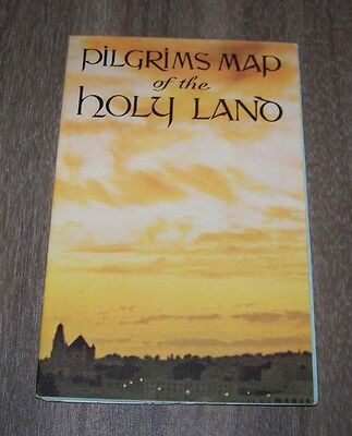 Pilgrams Map of the Holy Land Map