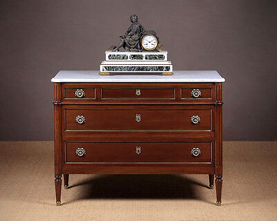 Antique Marble Top Chest of Drawers c.1930.
