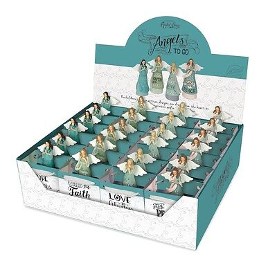 AngelStar Assortment of 24 Angels To Go in Giftbags and Display