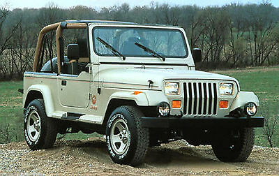 Jeep Tj 2001 Service Manual & Parts Manual