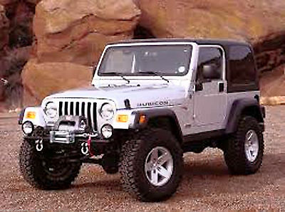 Jeep TJ 2003 Workshop Service Manual & Parts Manual