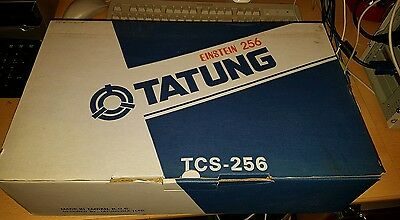 Tatung 256 new old stock with power and video lead etc
