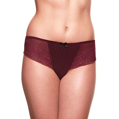 Maternity Panties by Bravado The Sublime Brief Black Cherry Size L/XL