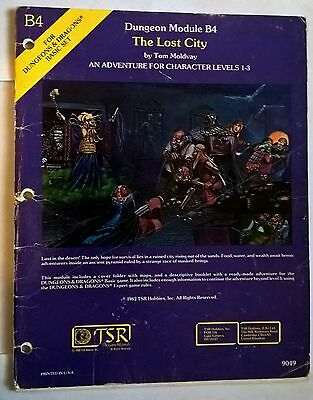 The lost City Dungeons and Dragons Adventure Module