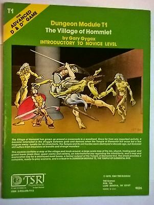 The Village of HommletDungeons and Dragons Adventure Module