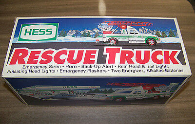 1994 Hess - Rescue Truck – Brand New In Box