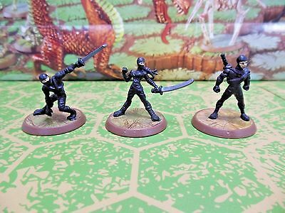Ninjas of the Northern Wind - Heroscape Thora's Vengeance Wave 5 - Damaged Card