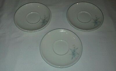 Noritake Misty Isle Collection 9132 Together 3x Saucers