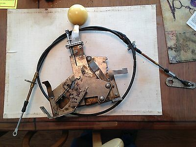 Vintage B&M Ratchet Shifter w/cable for Hot Rat Rod Dragster Operates Smooth