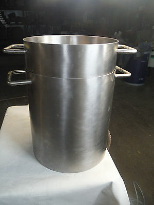 Stainless Mixing Vessel With Heated Base Approximately Four Gallon Capacity
