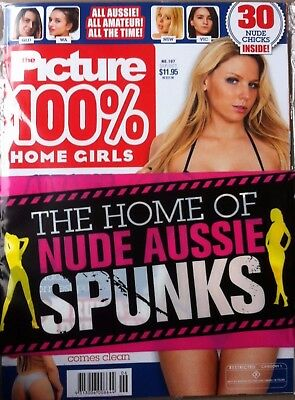 The Picture Magazine 100% Home Girls Issue 107(Restricted R) Sept Oct 2017- New