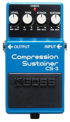 BOSS CS-3 Compression Sustainer Pedal - NEW!