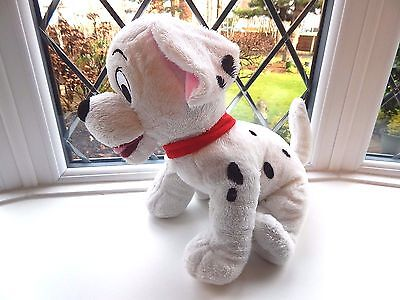 "Classic Disney Authentic 101 Dalmatians Soft Puppy Figure 12"" High"
