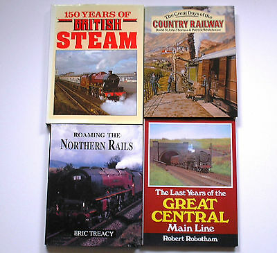4 Steam Railway Books Great Central Northern Rails Country Railway 150 Years