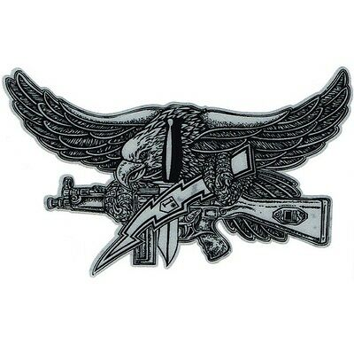 Freedom Eagle SWAT Reflective Decal