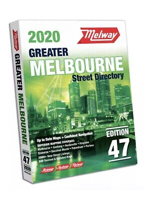 MELWAY 2019 Melbourne Street Directory Edition 46 - NEW Melways : FREE POSTAGE