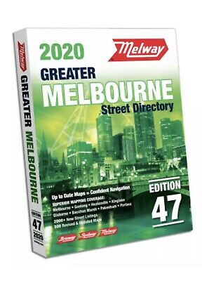 MELWAY 2020 Melbourne Street Directory Edition 47 - NEW Melways : FREE POSTAGE