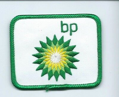 BP Oill co driver/employee patch 2-1/2 X 2-3/4 #1404