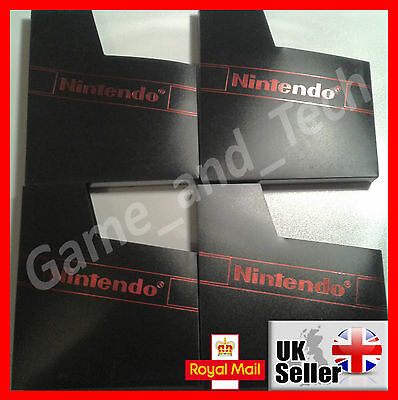 4x Nintendo NES Dust Covers for NES Game Cartridges Plastic Protective Sleeves