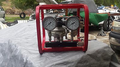 Barbee  P200-0-SM Air Operated Hydrostatic Test pump