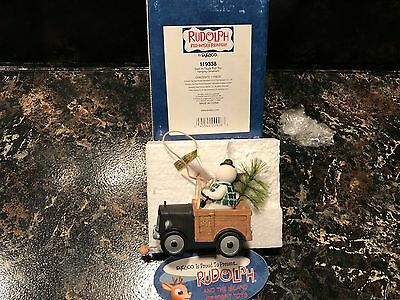 Rudolph Island of Misfit Toys SAM IN TRUCK PULL TOY #119338 ENSCO TREE ORNAMENT