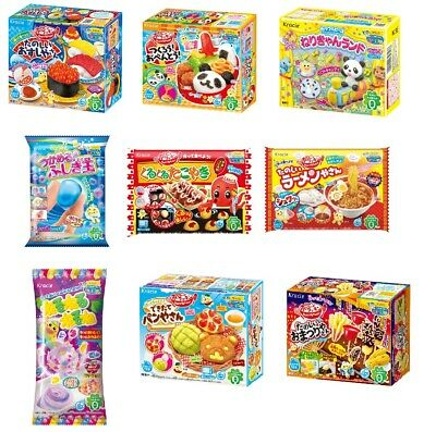 Kracie 9 pcs Making Poppin Cookin Kit DIY Gummy Candy Bundle Set from Japan F/S