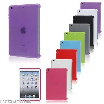 Transparent Hard Back Case Cover For Apple iPad 2 3 4 Mini 1 2 3 4 Air 2 Pro