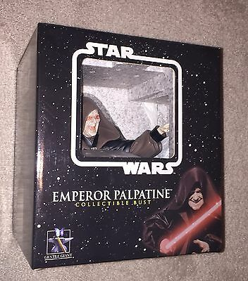 Gentle Giant Ltd Star Wars ROTS Emperor Palpatine collectible bust Darth Sidious