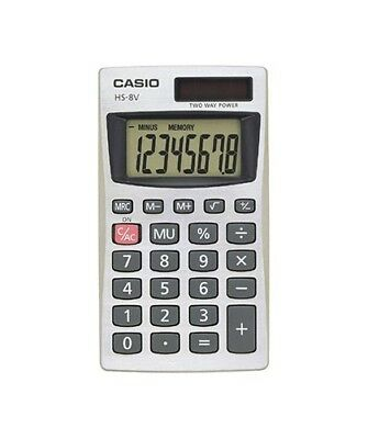 Portable Basic Calculator Big Display Auto Power Off Battery / Solar Powered