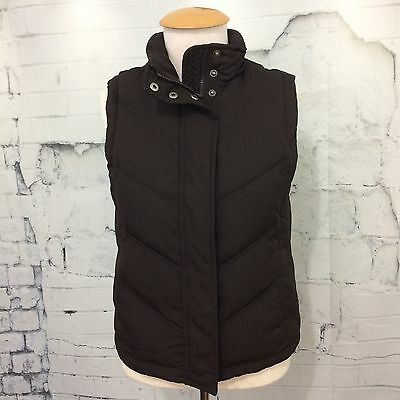 GAP -  75% Goose Down Brown Quilted Puffer Vest Women's XS