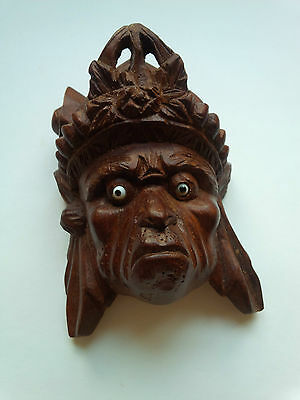 Chinese Hand carved mask Oriental head