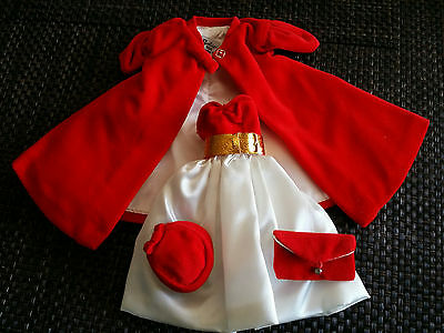 Barbie #977Silken Flame #939 Red Flare Outfit 1998 Reproduction Beautiful L@@K