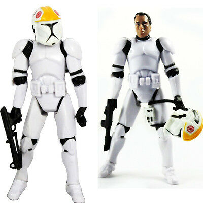 Star Wars Clone White Stormtrooper PVC Figma Action Figure Kids Toy Collectible