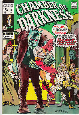 Chamber of Darkness #8 (Dec 1970, Marvel)