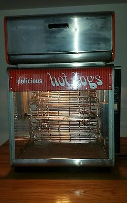 Vintage Star Commercial Hot Dog Carousel Cooker With - Bun- Warmer
