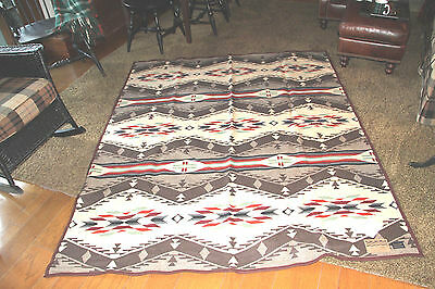 "Pendleton "" Spirit Of The Peoples "" Blanket / Robe New With Tags 64""x 80"" #3"