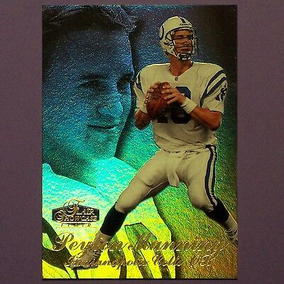 PEYTON MANNING  RC  1998 FLAIR SHOWCASE ROW 3 #3  Indianapolis Colts   ROOKIE