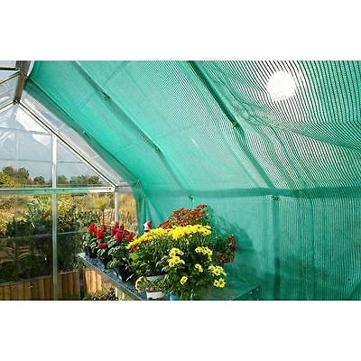 Palram Rion Greenhouse Shade Kit Cover Window Plant Green Garden Cloth