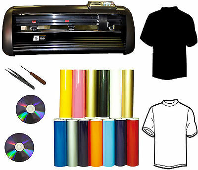 "13"" 1000g T-shirt Heat Transfer Vinyl Cutter Plotter, Sign,Vinyl,Decal,PU Vinyl"