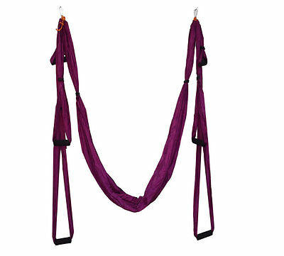 Aerial Yoga Swing Suspension Strap Hammock Fitness Exercise Sling Yoga Props