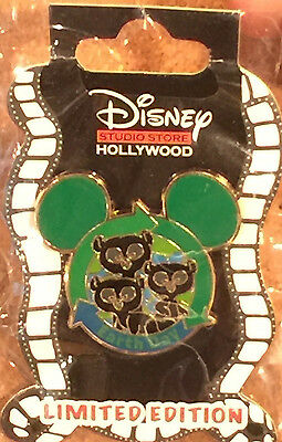 Disney Pin DSF DSSH Surprise Earth Day 2014 Brave Bear Cubs