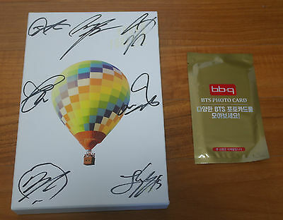 BTS Signed PROMO CD Young Forever Day & BBQ Photo Card (2nd Item)